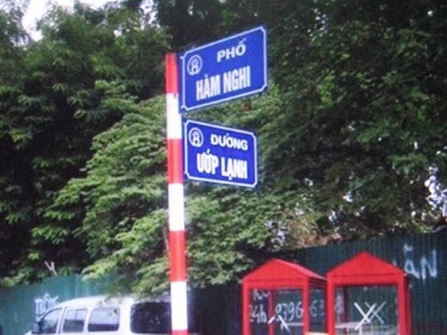 Hà Nội yêu cầu báo cáo việc đặt tên đường phố Ướp Lạnh