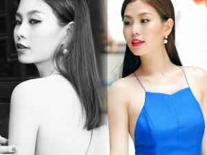 Thời trang - Á hậu Diễm Trang diện áo 2 dây khoe vai trần mảnh mai