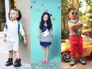 """Thời trang - 3 nhóc tì xứ Việt """"yêu ngay từ cái nhìn đầu tiên"""""""