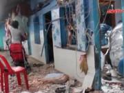 Video An ninh - Clip: Hiện trường vụ bồn nước rơi, đè chết bé 8 tháng tuổi