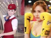 Thể thao - Mê mẩn nữ tiếp viên hàng không đẹp lại giỏi võ