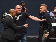 """Võ thuật - Quyền Anh - Nhà vô địch hạng lông tẩn """"gã điên UFC"""" ở họp báo"""