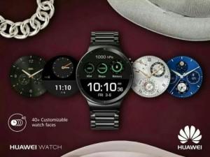 Máy in/phụ kiện - IFA 2015: Huawei giới thiệu đồng hồ thông minh thời thượng
