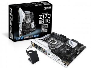 Công nghệ thông tin - ASUS giới thiệu mainboard Z170: Hỗ trợ chipset Intel thế hệ thứ 6