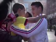 Bóng đá - Fan nhí gào khóc khi thấy James Rodriguez