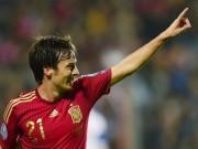 """Bóng đá - David Silva: """"Linh hồn"""" của Tây Ban Nha và Man City"""