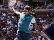 """Thể thao - """"Đánh lén"""": Vũ khí mới lạ, độc đáo của Federer"""