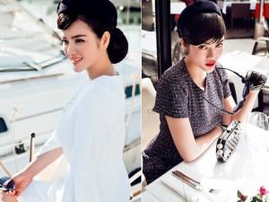 Thời trang - Lý Nhã Kỳ kiêu kỳ với phong cách cổ điển