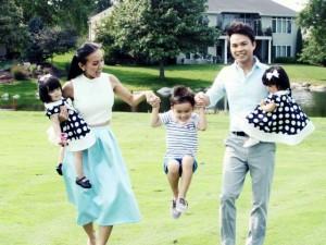 Ca nhạc - MTV - Cặp sinh đôi đáng yêu của MC Huyền Ny