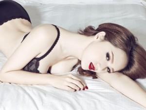 Ca nhạc - MTV - Hương Giang Idol lần đầu khoe ảnh nội y trong phòng ngủ