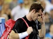 Các môn thể thao khác - Tin HOT tối 8/9: Bị loại sớm, Murray mất đứt 3 triệu USD