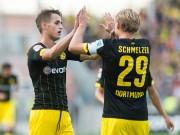 Januzaj xử lý kỹ thuật, ghi bàn ra mắt Dortmund