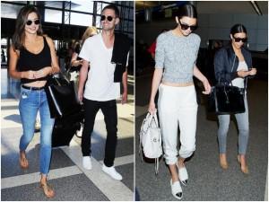 """Bí quyết mặc đẹp - """"Điểm danh"""" các mẫu giày sân bay siêu thoải mái của sao"""