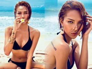 Thời trang - Siêu mẫu Minh Triệu thả dáng sexy trên biển