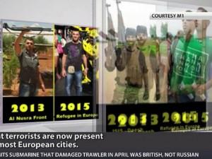 Thế giới - Nhận diện 2 kẻ khủng bố cải trang người tị nạn vào châu Âu