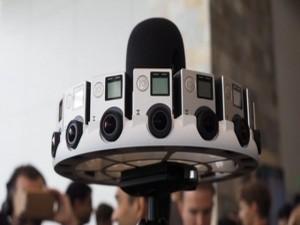 Công nghệ thông tin - Odyssey, máy quay 3D thực tế ảo có 16 camera GoPro