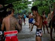 Võ thuật - Quyền Anh - Cận cảnh lò võ vỉa hè của thanh niên Myanmar