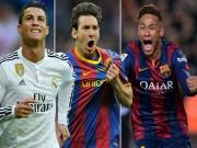 """Bóng đá - Ronaldo, Messi, Neymar """"núp bóng"""" cầu thủ vô danh"""