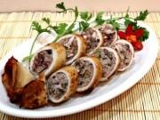 Ẩm thực - Mực nhồi thịt chiên giòn ngon đã đời