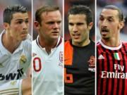 """Bóng đá - """"Sát thủ"""" số 1 đội tuyển: Rooney, CR7 sánh cùng Pele"""