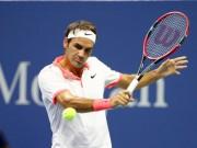 Thể thao - Hot shot: Federer tung cú cắt bóng xoáy ngược