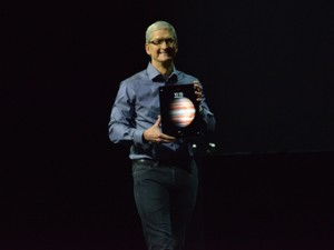 Apple iPad Pro trình làng: Màn hình siêu khủng