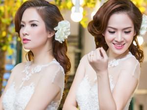 Gái 2 con Đan Lê vẫn siêu xinh khi hóa thân cô dâu