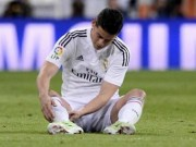 """Bóng đá Tây Ban Nha - Real: James nghỉ 1 tháng - """"ác mộng"""" hiện về"""