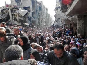 Thế giới - Những bức ảnh đáng suy ngẫm về cuộc sống ở Syria