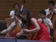 Thể thao - Cực độc: Chơi bóng bàn hòa tấu nhạc giao hưởng