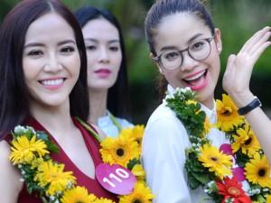 Thời trang - Thí sinh hoa hậu làm dậy sóng thành phố biển Nha Trang