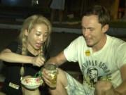 Hằng Bingboong và Ngọc Khanh V.music thi bán tào phớ