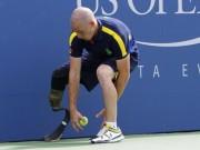 Tennis - US Open 2015: Chuyện về người nhặt bóng 1 chân
