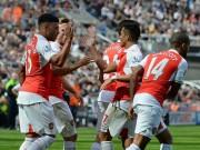 """Bóng đá Ngoại hạng Anh - Arsenal trở lại """"bản ngã"""": Dậy mà... sút"""