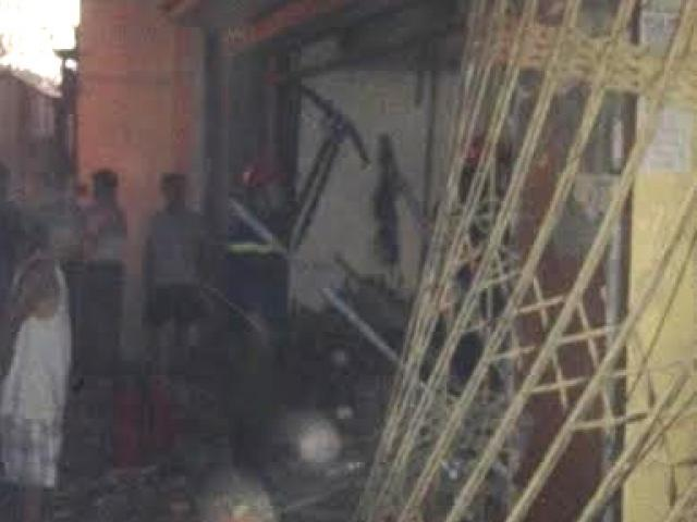 HN: Nổ lớn ngôi nhà trong ngõ, ít nhất 1 người tử vong