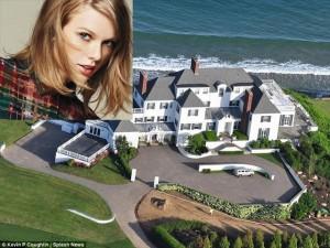 Ca nhạc - MTV - Những bất động sản triệu đô của Taylor Swift