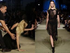 Thời trang bốn mùa - Thiên thần nội y gục ngã trên sàn diễn Givenchy