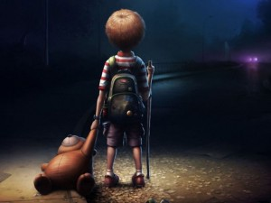 Câu chuyện ý nghĩa về bé trai cô đơn