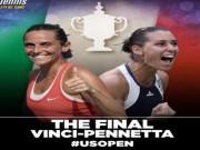 Thể thao - Chi tiết Vinci – Pennetta: Set 2 bùng nổ (KT)