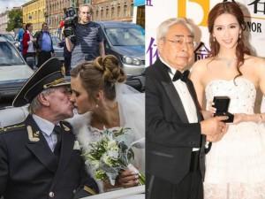 """Hậu trường phim - Những đám cưới """"ông-cháu"""" gây sốc nhất làng giải trí"""