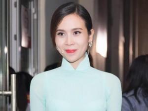 Lưu Hương Giang e thẹn khi được khen xinh như Hoa hậu