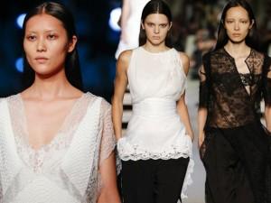 Thời trang - Liu Wen đẹp hút mắt với sắc trắng - đen