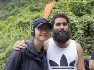 """Phim - Đạo diễn """"King Kong 2"""" đến phim trường thăm Vân Ngô"""
