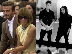 """Váy - Đầm - Gia đình nhà Beck """"náo loạn"""" tuần lễ thời trang NY"""