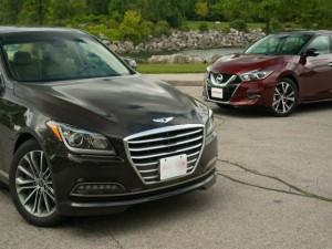 Ô tô - Xe máy - So kè Hyundai Genesis 2015 và Nissan Maxima 2016