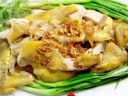 Ẩm thực - Phát thèm với gà hấp hành mềm thơm, béo ngọt