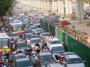 Tin tức Việt Nam - Sẽ rút giấy phép công trường gây ùn tắc
