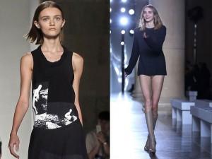 """Thời trang - Victoria Beckham bị la ó vì ưu ái """"bộ xương di động"""""""