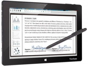 Công nghệ thông tin - Máy tính bảng chạy Windows, nhận diện được 1.024 lực viết