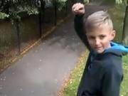 "Thể thao - Cậu bé ""gây bão'' với cú nhảy parkour đỉnh cao"